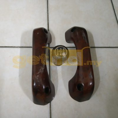 Classic Mini Wooden Door Handle & Gear Knob