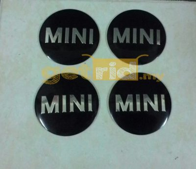Middle Rim Cap Cover Sticker