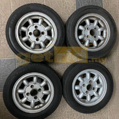 Classic Mini Rims With Tyres