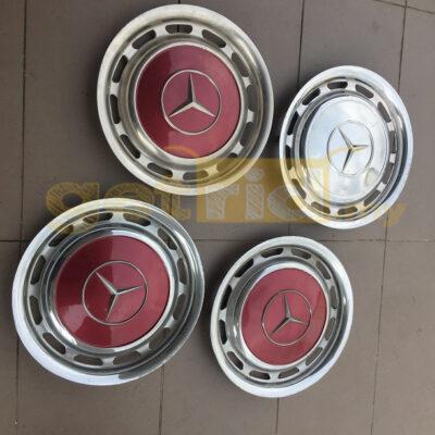 Classic Mercedes Hub Caps