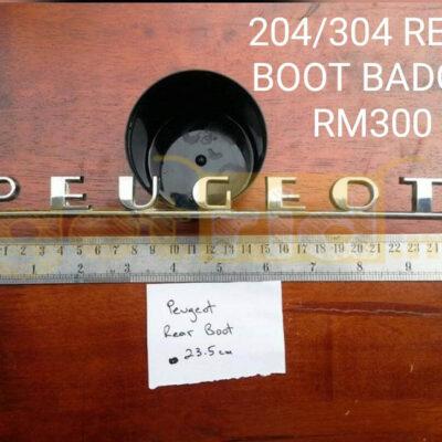 Peugeot 204/304 Badge